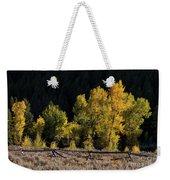 Wyoming Autumn Color One Weekender Tote Bag