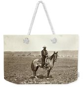Wyoming: Cowboy, C1883 Weekender Tote Bag
