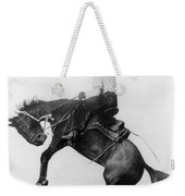 Wyoming: Cowboy, C1911 Weekender Tote Bag