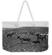 Wyoming: Cowboys, C1890 Weekender Tote Bag