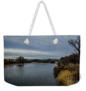 Wyoming Morning River Weekender Tote Bag