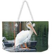 Wyoming Pelican Weekender Tote Bag