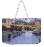 Wyoming River Weekender Tote Bag