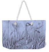Wyoming Sandhill Cranes Weekender Tote Bag