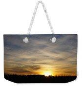 Wyoming Sunrise Weekender Tote Bag