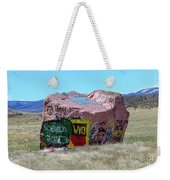 Wyoming Tech Weekender Tote Bag
