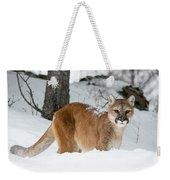Wyoming Wild Cat Weekender Tote Bag