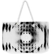 X-ray Diffraction Image Of Dna Weekender Tote Bag
