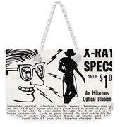 X-ray Specs $1.00 Weekender Tote Bag