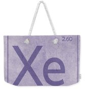 Xenon Xe Element Symbol Periodic Table Series 054 Weekender Tote Bag