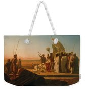 Xerxes At The Hellespont Weekender Tote Bag