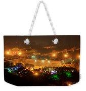 Xian City Lights Weekender Tote Bag