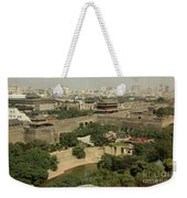 Xi'an City Wall With Skyline Weekender Tote Bag