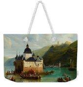 Xixth Century French School Pfalzgrafenstein Castle Weekender Tote Bag