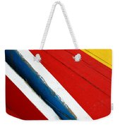 Xochimilco Boat Abstract 1 Weekender Tote Bag