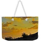 Y Cactus Sunset 10 Weekender Tote Bag