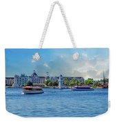 Yacht And Beach Club Walt Disney World Weekender Tote Bag