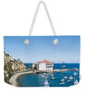 Yacht Club And The Casino Weekender Tote Bag