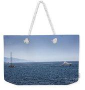 Yacht Weekender Tote Bag