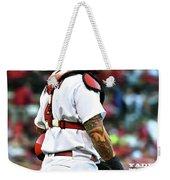 Yadier Molina, St. Louis Cardinals Weekender Tote Bag