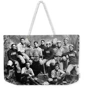Yale Baseball Team, 1901 Weekender Tote Bag