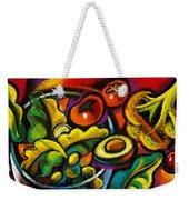 Yammy Salad Weekender Tote Bag by Leon Zernitsky
