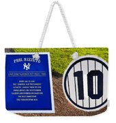 Yankee Legends Number 10 Weekender Tote Bag