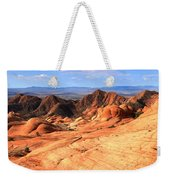 Yant Flat Candy Cliffs Panorama Weekender Tote Bag