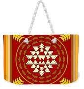 Yantra Meditation Weekender Tote Bag
