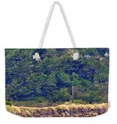 Yaquina Bay Lighthouse Weekender Tote Bag