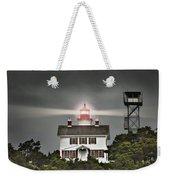 Yaquina Bay Lighthouse Weekender Tote Bag