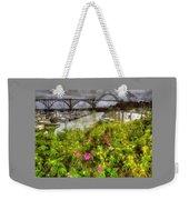 Yaquina Bay Roses Weekender Tote Bag