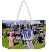 Yard Sale Day Weekender Tote Bag