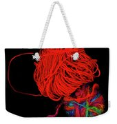 Yarn Leftovers Weekender Tote Bag