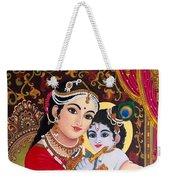 Yashoda  Krishna  Weekender Tote Bag