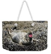 Yawning Harbor Seal - Oregon Coast Weekender Tote Bag