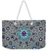 Yazd - Blue Mosaic Weekender Tote Bag