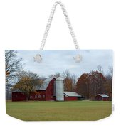 Ye Old Red Barn Weekender Tote Bag