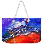Year Of The Rooster Year Of The Fish Weekender Tote Bag