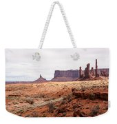 Yei Bi Chei And Totem Pole Formation Weekender Tote Bag
