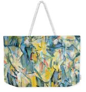 Yellow Abstraction Weekender Tote Bag