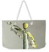 Yellow And Green 1 Weekender Tote Bag