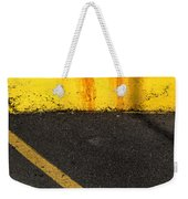 Yellow And Grey Wc  Weekender Tote Bag