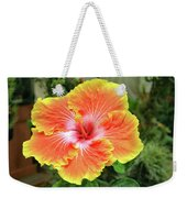 Yellow And Orange Hibiscus 2 Weekender Tote Bag