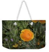 Yellow And Orange Poppy Weekender Tote Bag