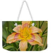 Yellow And Red Lily Weekender Tote Bag