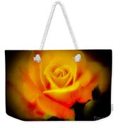 Yellow And Red Rose Weekender Tote Bag
