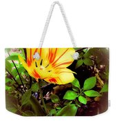 Yellow And Red Tulip Weekender Tote Bag