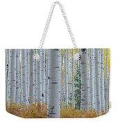Yellow Aspen Grove Weekender Tote Bag