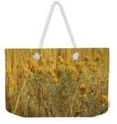 Yellow Autumn Blooming Weekender Tote Bag
